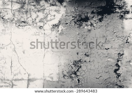 Texture. Wall. A background with attritions and cracks - stock photo