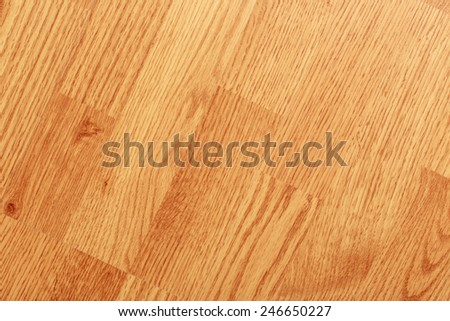 Textured background of clean laminated wooden floor - stock photo