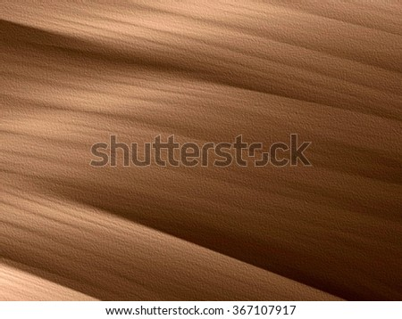Textured brown background with lines - stock photo