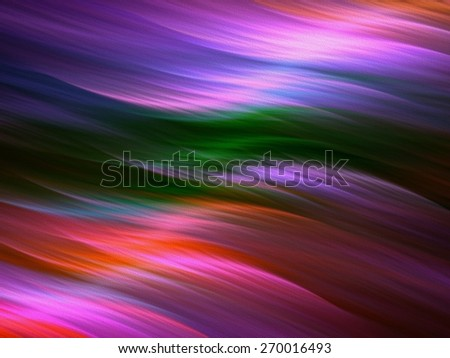 Textured colorful background with waves - stock photo