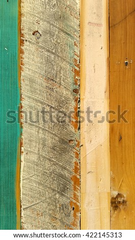 Textured Distressed Timber Background 3 - stock photo