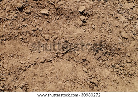 textured earth - stock photo