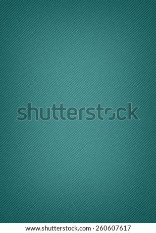 textured green denim background - stock photo