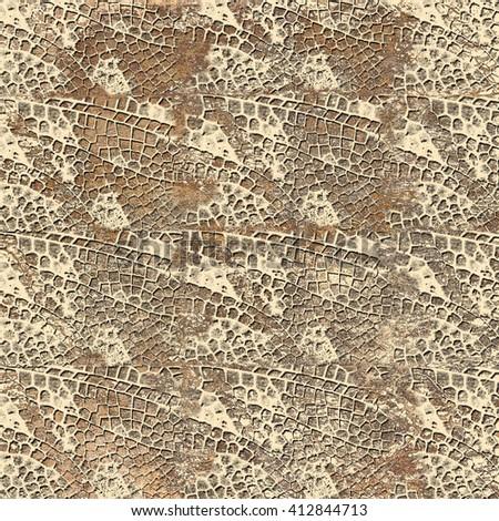 Textured pattern beige brown background - stock photo