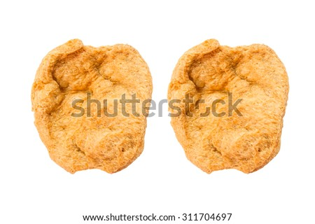 Textured Soy Chunks - stock photo