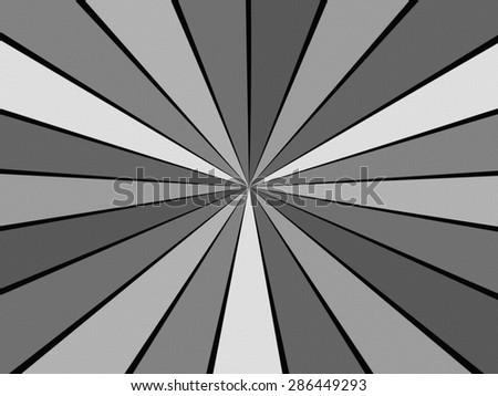 Textured Starburst - stock photo