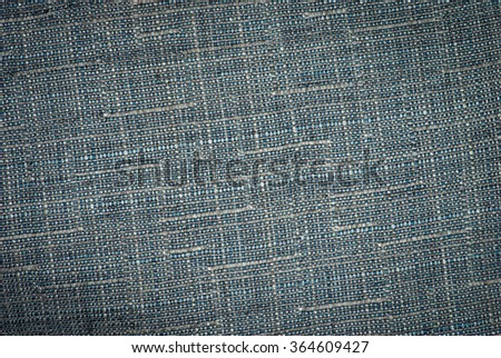 Textured striped jeans denim linen fabric background - stock photo