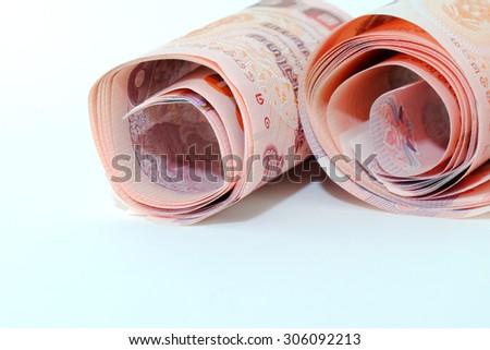 Thai Baht money - stock photo
