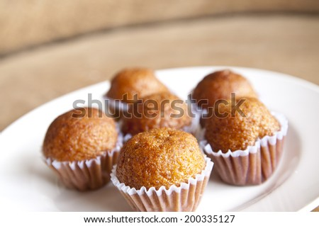 Thai banana cake  - stock photo