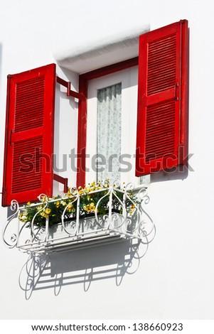 Thai classic windows - stock photo