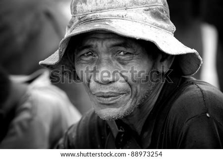 Thai farmer - stock photo
