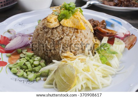 thai food is delicious food dishes - stock photo