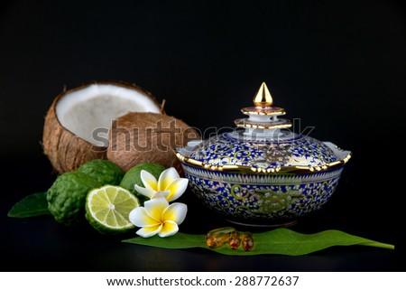 thai kitchen - stock photo
