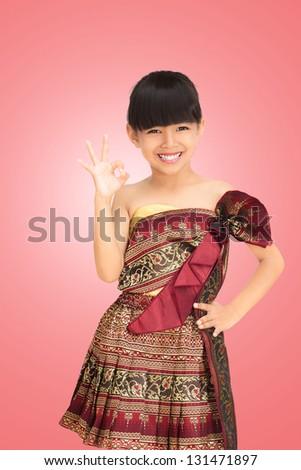 Тайские маленькие девочки 9 фотография