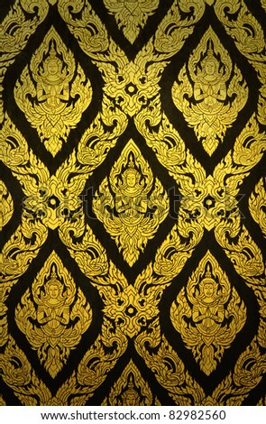 Thai patterns - stock photo