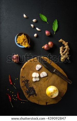 Thai spicy and herbal food ingredient - stock photo