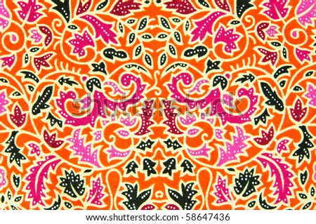 Thai style texture - stock photo