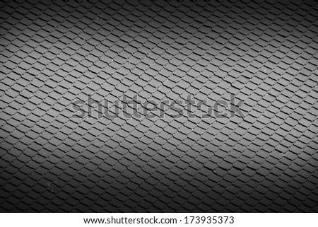 Thai style tile roof - stock photo