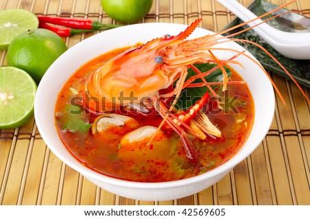 shrimp hot and sour soup and shrimp thai hot and sour shrimp soup tom ...