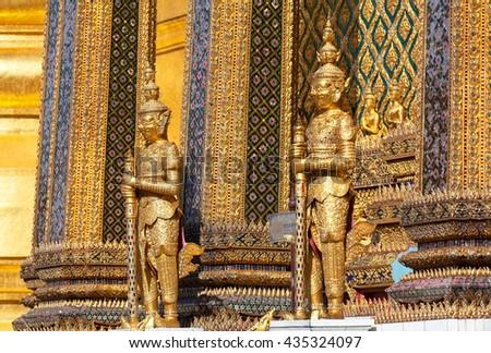 Thailand - Bangkok Royal Palace - stock photo