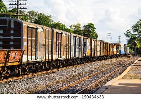 Thailand Railway - stock photo