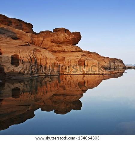 Thailand's Grand Canyon - stock photo