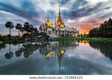Thailand Temple - stock photo