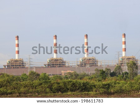 Thailand Thermal Power Plant  - stock photo