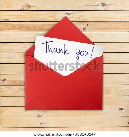 Thank You. - stock photo