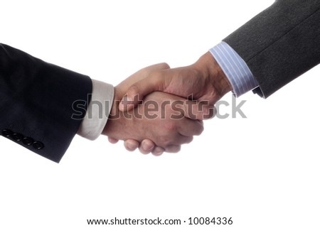 Thanks for cooperation isolated - stock photo