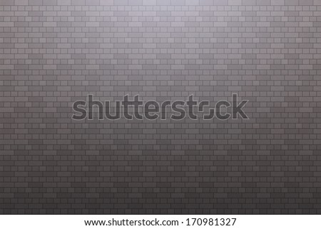 The above light with grey wall - stock photo
