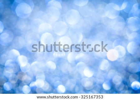 the  Abstract blur  purple blue  bokeh lighting from glitter texture - stock photo