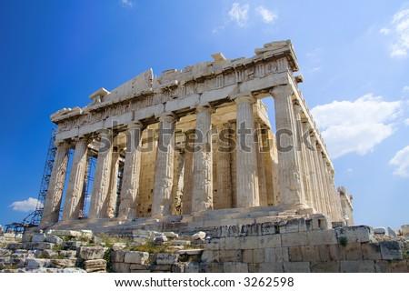 The Acropolis, Athens - stock photo