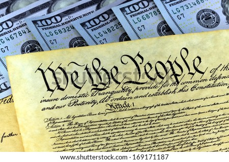 The American Recovery and Reinvestment Act - Government Concept - stock photo