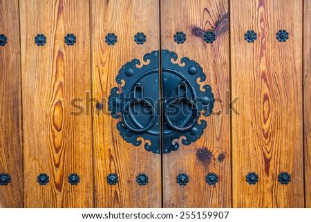 The Ancient knocker of korea style - stock photo