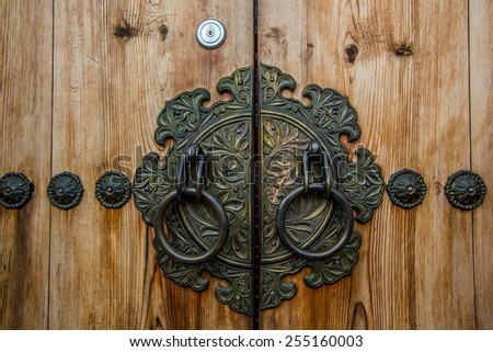 The Ancient knocker of korea style - stock photo