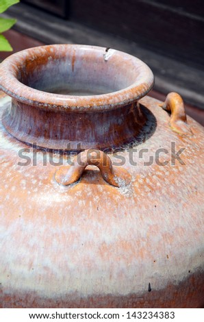 The Ancient Pottery. - stock photo