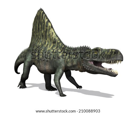 The Arizonasaurus is a dinosaur that lived around Arizona during the Triassic Period. - stock photo