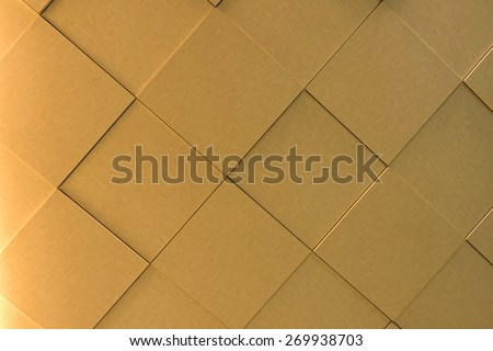 The art of wall tile. - stock photo
