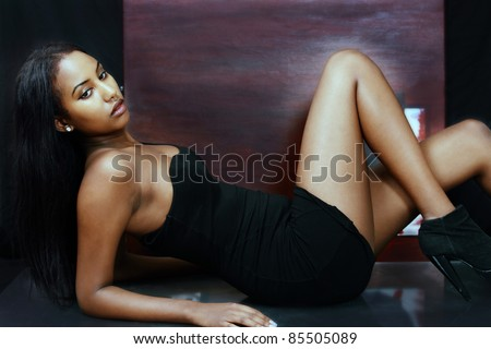 The artists' model - stock photo