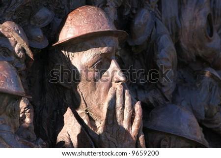 The Battle of Britain Memorial - stock photo