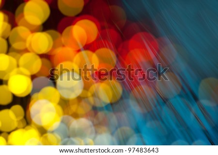 The beautiful background blur night lights - stock photo