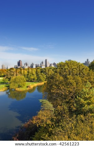 The beauty of Central Park, NYC, Manhattan - stock photo
