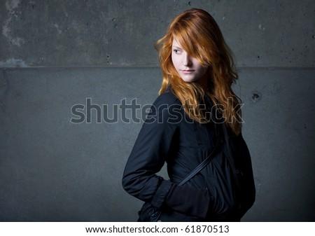The Bond girl. - stock photo