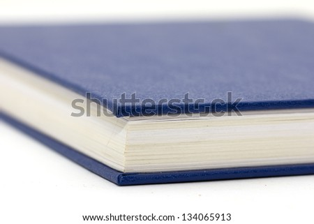 The book on a white background - stock photo