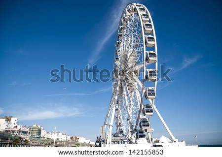 The Brighton Wheel, UK - stock photo