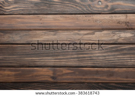 the brown wooden background - stock photo