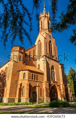 The Catholic Church, the Cathedral - stock photo
