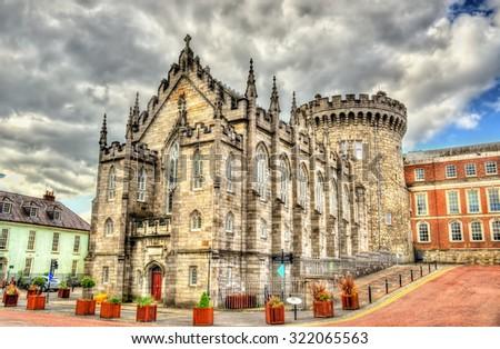 The Chapel Royal in Dublin Castle - Ireland - stock photo
