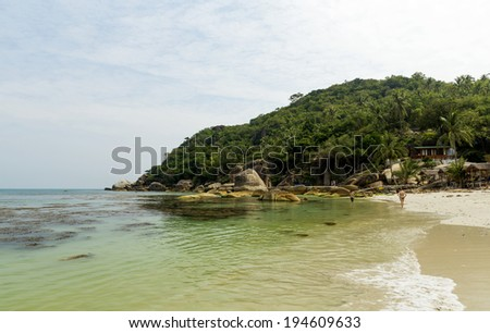 The Chrystal Bay in Koh Samui, Thailand - stock photo